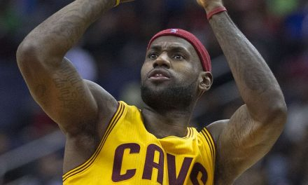 LeBron James' First Ejection In His NBA Career.